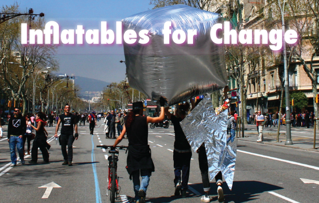 Forradalmi workshop – Felfújható szobrokkal a változásért!