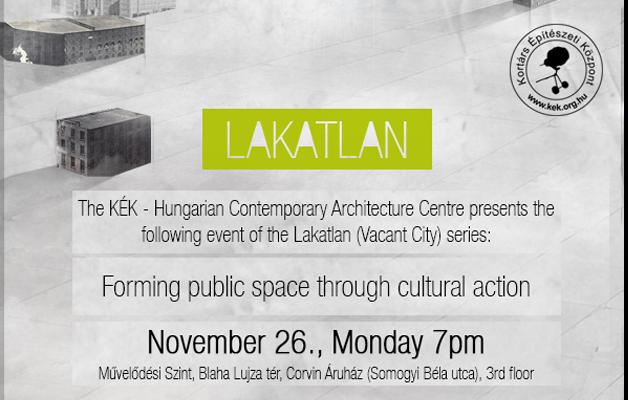 LAKATLAN: Vladimir Us – Kulturális beavatkozások a közterek újrateremtéséért