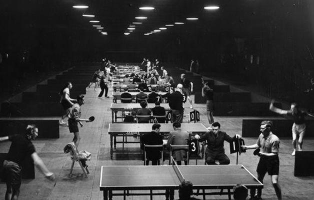 I. MÜSZI Egyéni Amatőr Ping Pong Torna