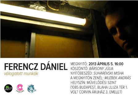 Ferencz Dániel kiállítása