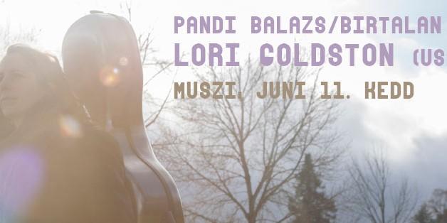 Pándi Balázs/Birtalan Áron   Lori Goldston/Mik Quantius (USA) koncert