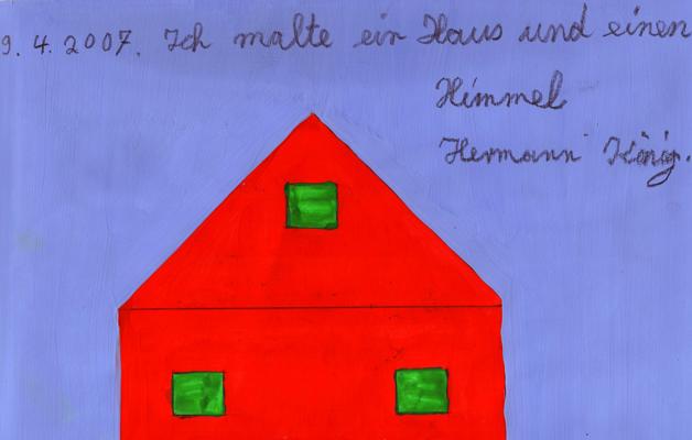 08.05. Festettem egy eget és egy házat – kiállítás