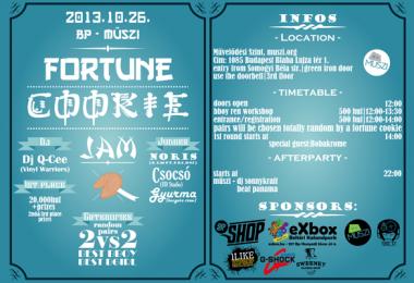 10.26. Fortune Cookie Jam