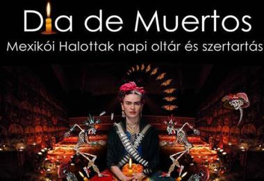 10.31.-11.02. A Cosmo Danza mexikói társulat Halottak napi programja