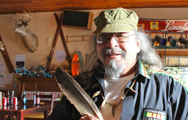 Beszélgetés Jim Northrup indián költővel