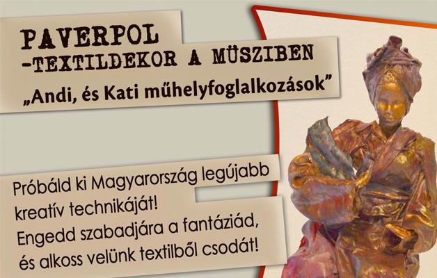 PAVERPOL-TEXTILDEKOR WORKSHOP