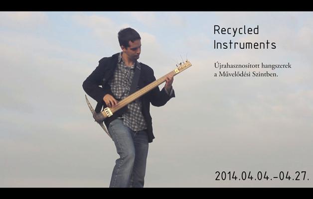 Újrahasznosított Hangszerek – Kiss Kerecsen Ferenc kiállítása // Exhibition of recycled musical instruments – An exhibition by Kiss Kerecsen Ferenc