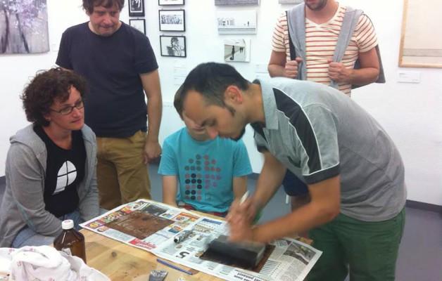 Monotípia workshop | Szabó Kristóf grafikussal & Takács Eszter designerrel