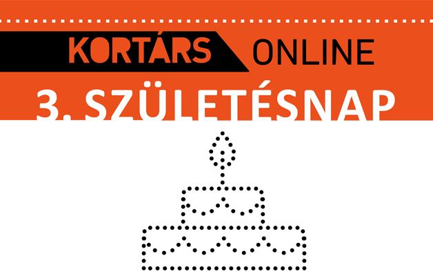Kortárs Online 3. születésnap