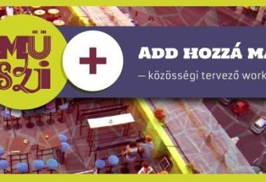 MÜSZI+ közösségi tervező Workshop 4.0 memója