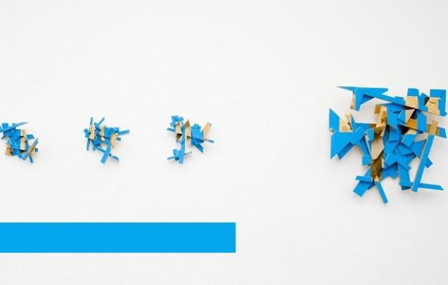 """""""Kékre festik a Müszi falait februárban – Gnándt Ferenc kiállítása"""" / Contextus"""
