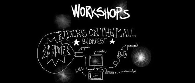 ▓░ PÉNTEK | FRIDAY 31 MARCH ░▓ ROM – Riders on the Mall / Festival 2.0 ░▓